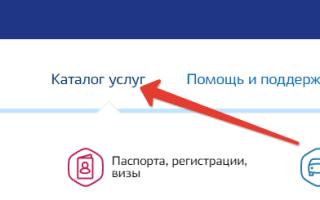 Регистрация по месту жительства через Госуслуги